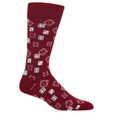 Men's Dice Crew Socks thumbnail