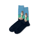 Men's Botticelli's Birth of Venus Socks