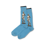 Men's Michelangelo's David Crew Socks