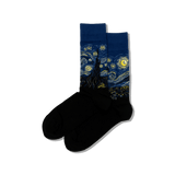 Men's Van Gogh's Starry Night Socks thumbnail