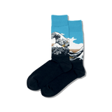 Men's Hokusai's Great Wave Socks
