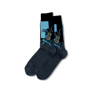 Men's Picasso's Old Guitarist Socks