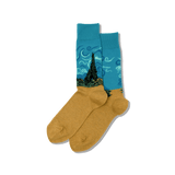 Men's Van Gogh's Wheat Field with Cypresses Socks thumbnail
