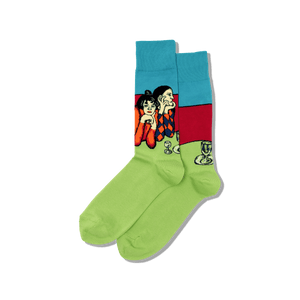 Men's Picasso's Two Acrobats Socks