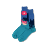 Men's Monet's Houses of Parliament at Sunset Socks thumbnail