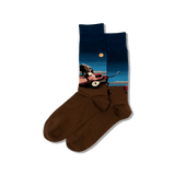 Men's Rousseau's The Sleeping Gypsy Socks thumbnail