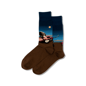 Men's Rousseau's The Sleeping Gypsy Socks