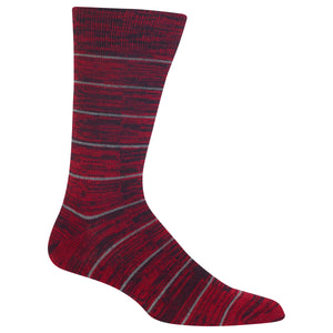 Men's Random Feed Stripe Crew Socks