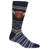 Men's Buffalo Head Crew Socks