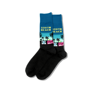 Men's South Beach Crew Socks
