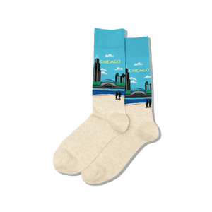 Men's Chicago Crew Socks