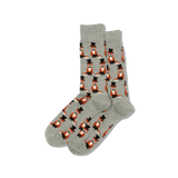 Men's Foxy Groom Crew Socks thumbnail