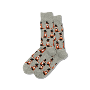 Men's Foxy Groom Crew Socks