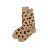 Men's Dancing Turkeys Crew Socks thumbnail