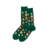 Men's Christmas Cookies Crew Socks thumbnail