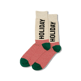 Men's Holiday Crew Socks thumbnail