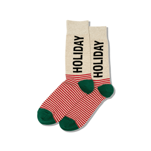 Men's Holiday Crew Socks