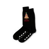 Men's Merry Crustmas Crew Socks