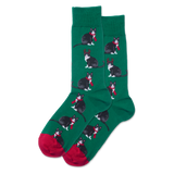 Men's Reindeer Cat Crew Socks thumbnail