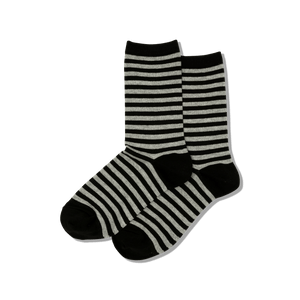 Women's Thin Stripe Crew Socks