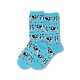 Women's Cows Crew Socks