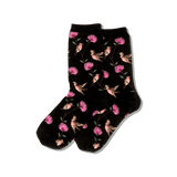 Women's Hummingbirds Crew Socks thumbnail