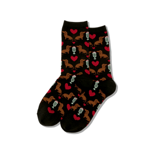 Women's Dogs And Milkshake Socks