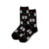 Women's Owl Love Crew Socks thumbnail