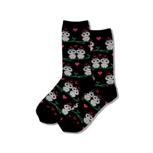 Women's Owl Love Crew Socks
