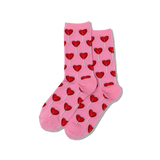 Women's Heart Lollipop Crew Socks thumbnail
