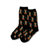 Women's St. Patricks Day Dog Socks