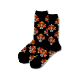 Women's Turkey Dog Crew Socks thumbnail