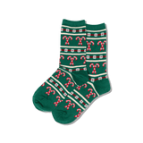 Women's Candy Cane Stripe Socks