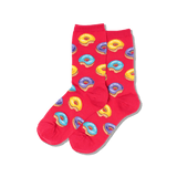 Women's Donut Crew Socks