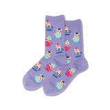 Women's Teacup Pigs Crew Socks thumbnail