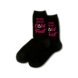 Women's In Case You Get Cold Feet Socks