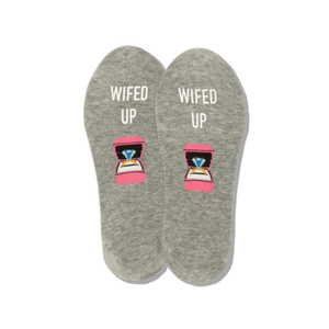 Women's Wifed Up No Show Socks