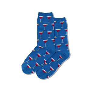 Women's Cosmo Cocktail Crew Socks