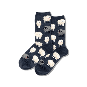 Women's Black Sheep Crew Socks