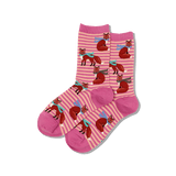 Women's Winter Foxes Crew Socks thumbnail