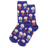 Women's Gumball Machines Crew Socks