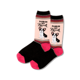 Women's Pardon My French Socks thumbnail