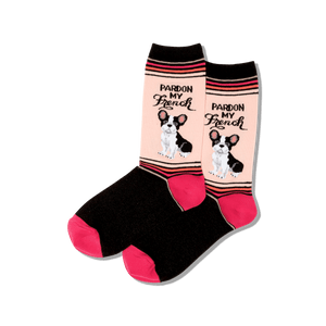 Women's Pardon My French Socks