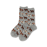 Women's Horses Crew Socks thumbnail