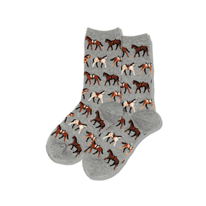 Women's Horses Crew Socks