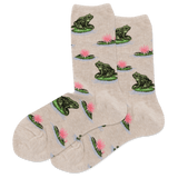Women's Frog Crew Socks thumbnail