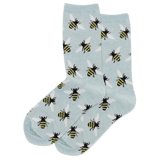 Women's Bees Crew Socks