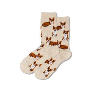 Women's Corgi Crew Socks