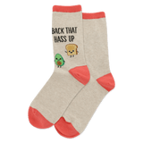Women's Back That Hass Up Crew Socks