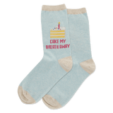 Women's Cake My Breath Away Crew Socks thumbnail